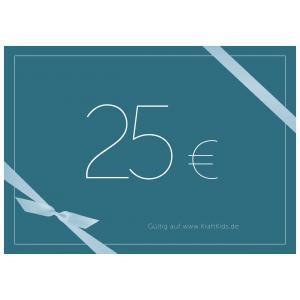 Geschenkgutschein Wert 25,00 Euro