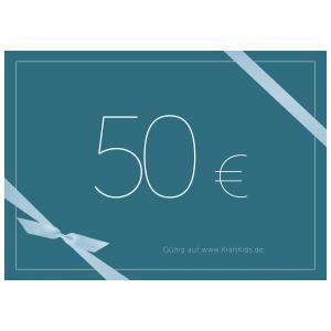 Geschenkgutschein Wert 50,00 Euro