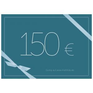 Geschenkgutschein Wert 150,00 Euro
