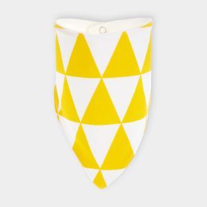 KraftKids Dreieckstuch gelbe Dreiecke