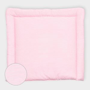 miniFifia Wickelauflage Streifen rosa breit 75 x tief 70 cm