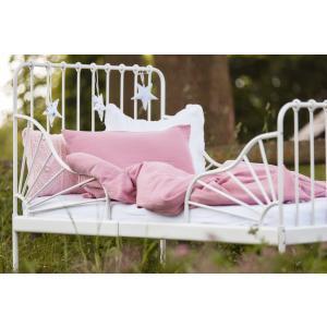 KraftKids Bettwäscheset Musselin rosa 100 x 135 cm, Kissen 40 x 60 cm