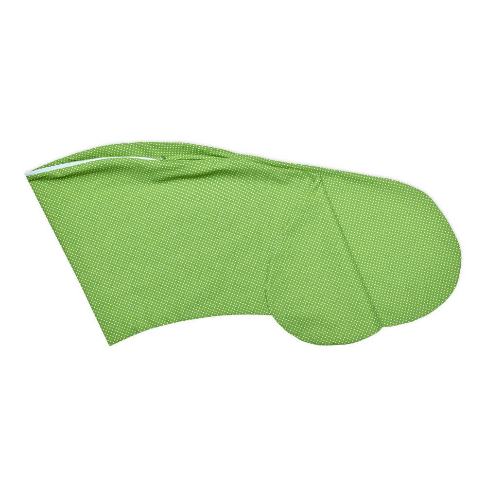 KraftKids Stillkissenbezug weiße Punkte auf Grün