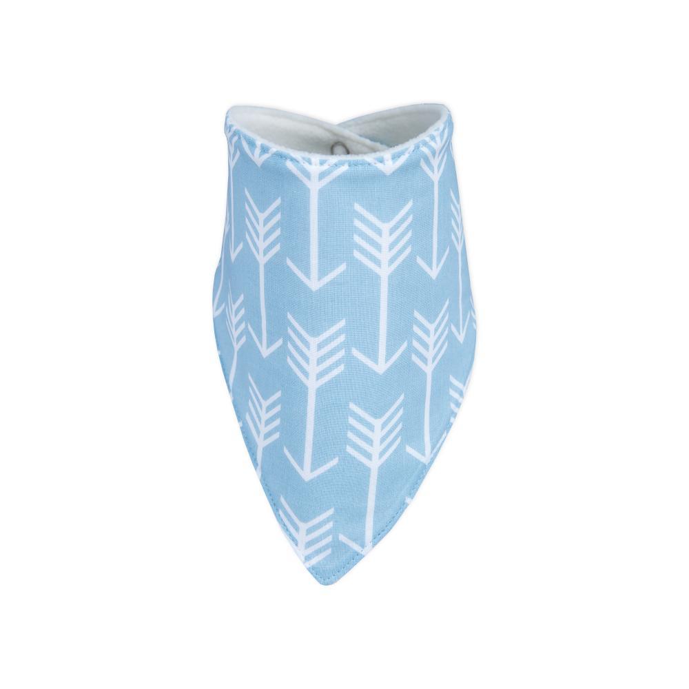 KraftKids Dreieckstuch weiße Pfeile auf Blau