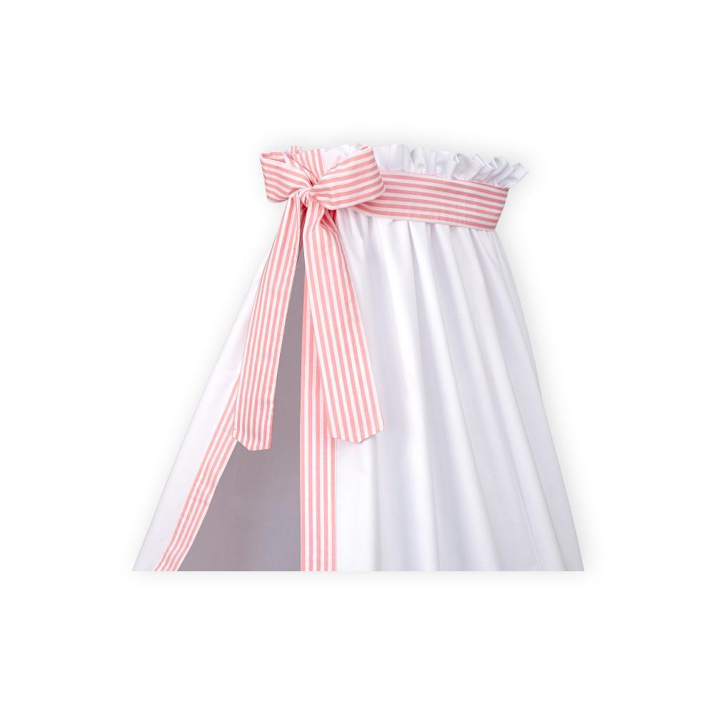 KraftKids Betthimmel Streifen rosa
