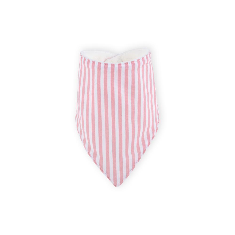 KraftKids Dreieckstuch Streifen rosa
