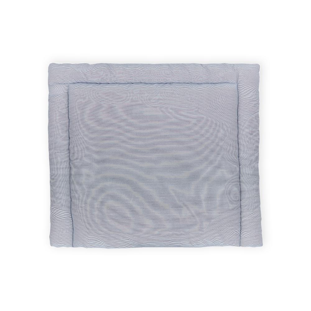 KraftKids Wickelauflage dünne Streifen dunkelblau breit 75 x tief 70 cm