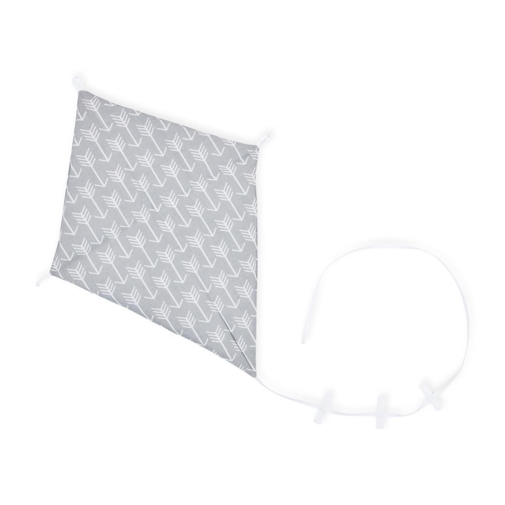 KraftKids Dekoration Luftdrache weiße Pfeile auf Grau