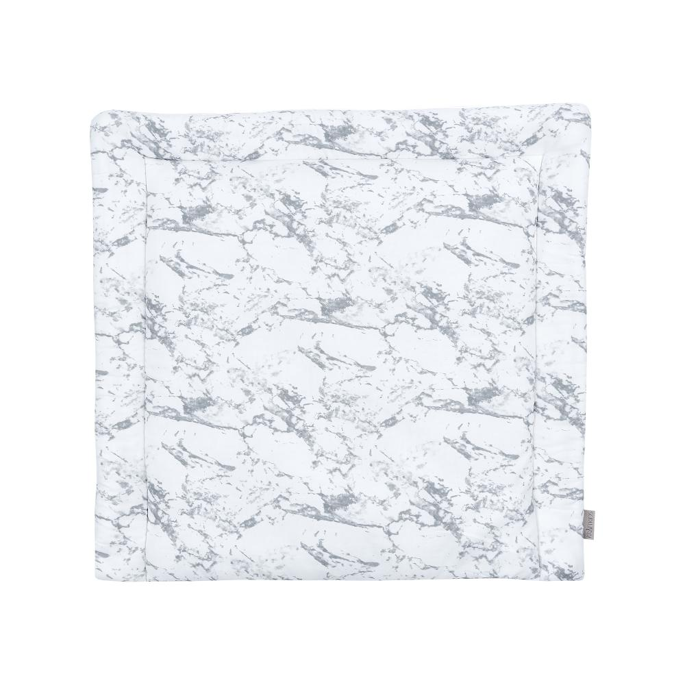 KraftKids Wickelauflage weißer Marmor 85 cm breit x 75 cm tief