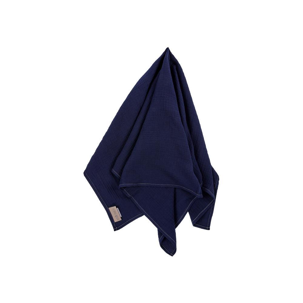 KraftKids Musselintuch Musselin dunkelblau