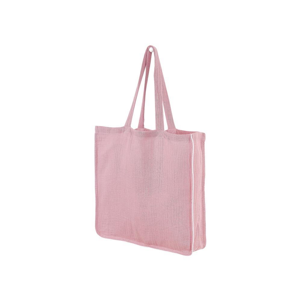 KraftKids Tragetasche Musselin rosa Shopper