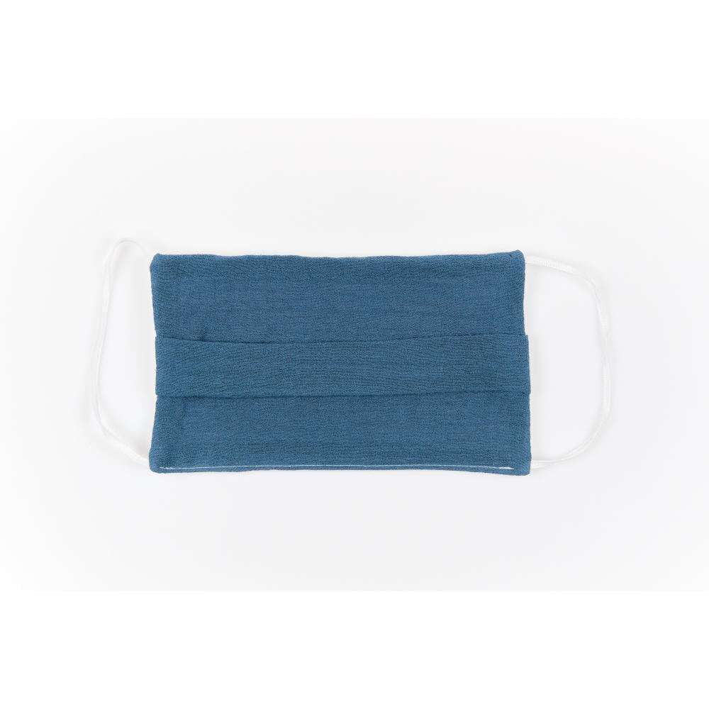 KraftKids Gesichtsmaske Musselin blau