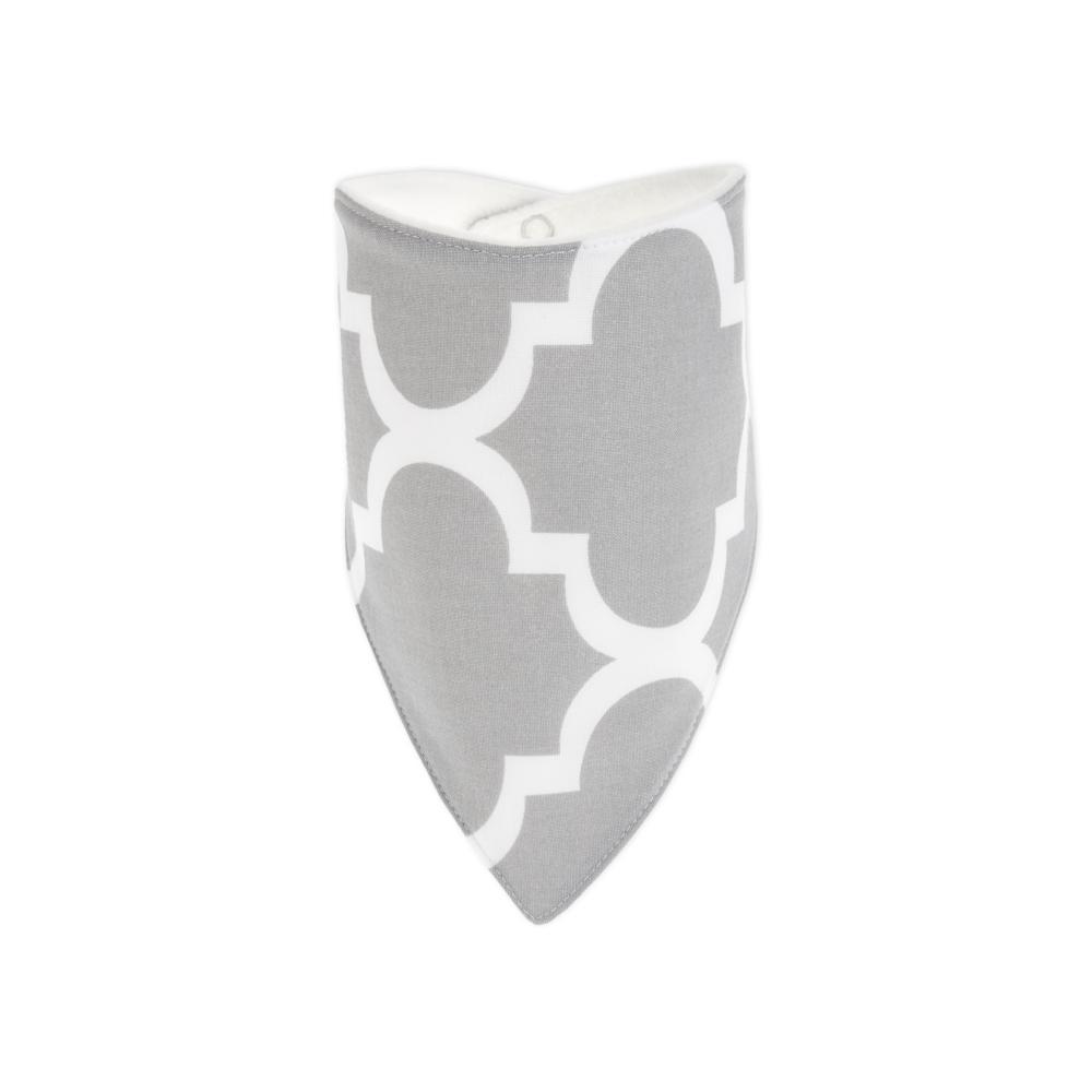 KraftKids Dreieckstuch marokkanisches Klee grau