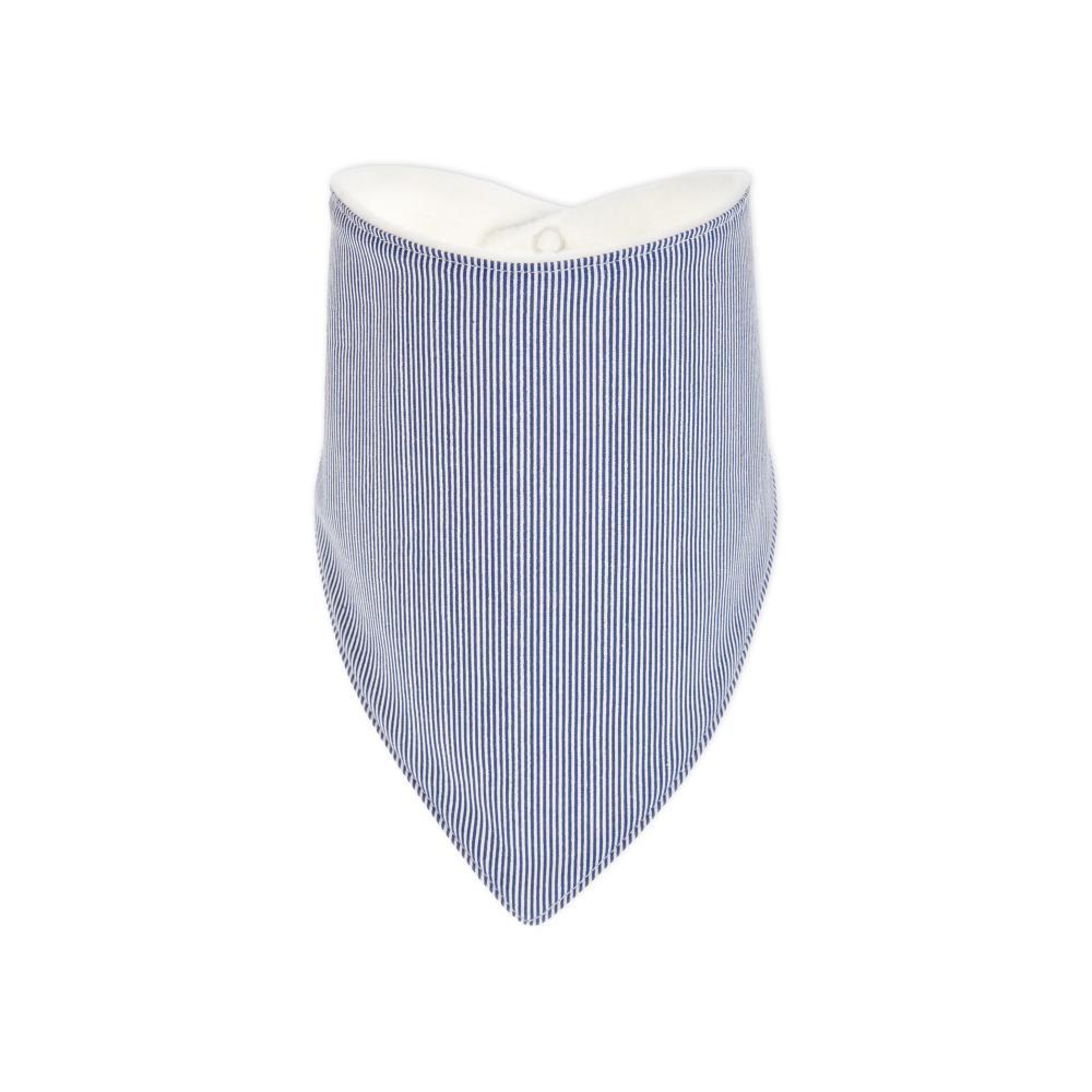 KraftKids Dreieckstuch dünne Streifen dunkelblau