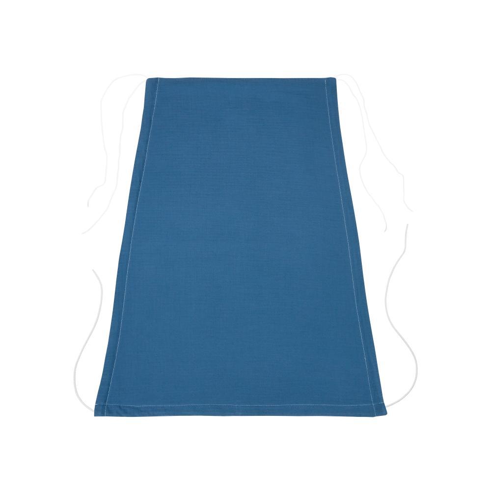 KraftKids Sonnensegel Musselin blau