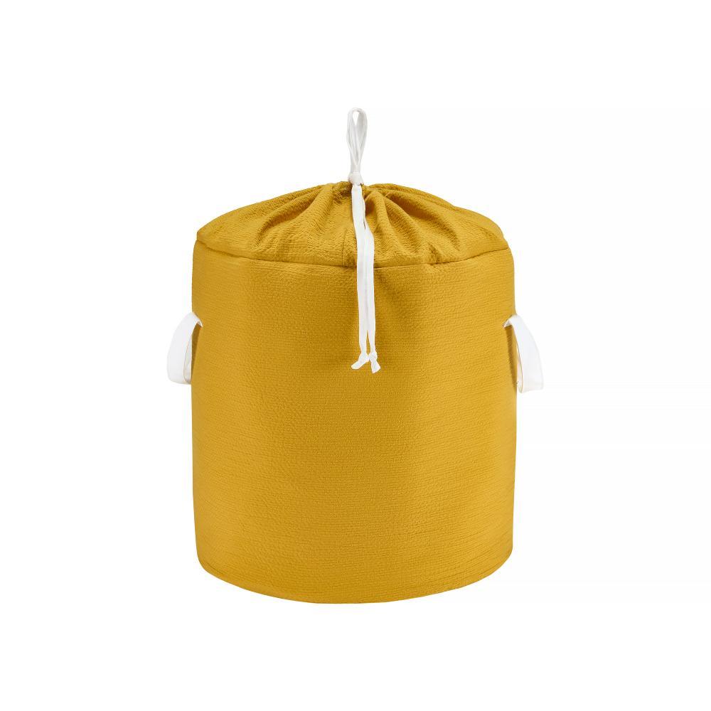 KraftKids Spielzeugkorb Doppelkrepp Gelb Mustard