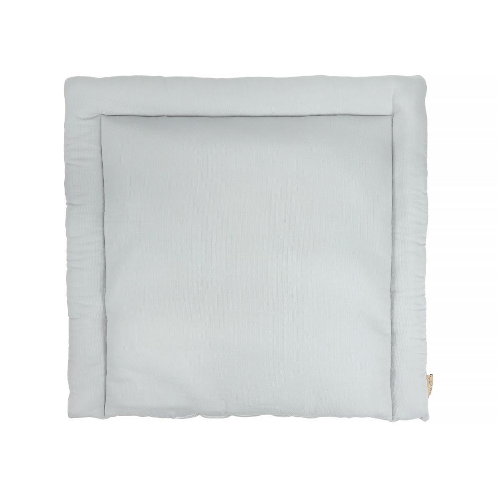 KraftKids Wickelauflage Doppelkrepp Grau breit 75 x tief 70 cm