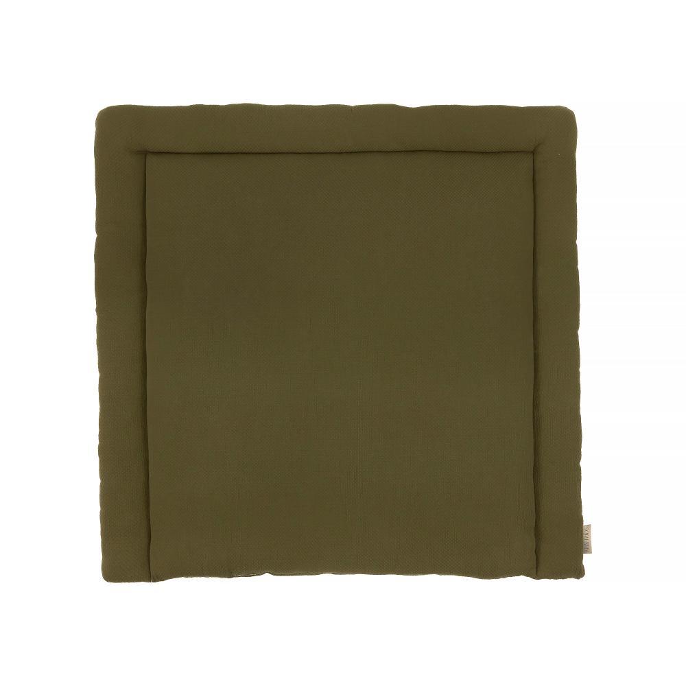 KraftKids Wickelauflage Doppelkrepp Grün Herbstgrün breit 75 x tief 70 cm