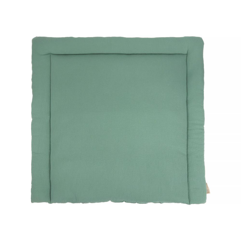 KraftKids Wickelauflage Doppelkrepp Grün Jade breit 75 x tief 70 cm