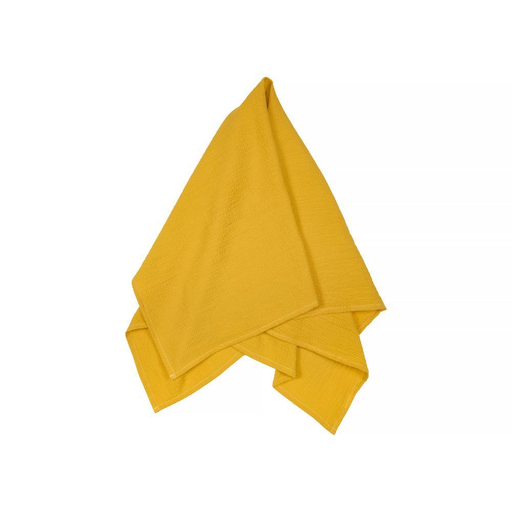 KraftKids Halstuch Doppelkrepp Gelb Mustard
