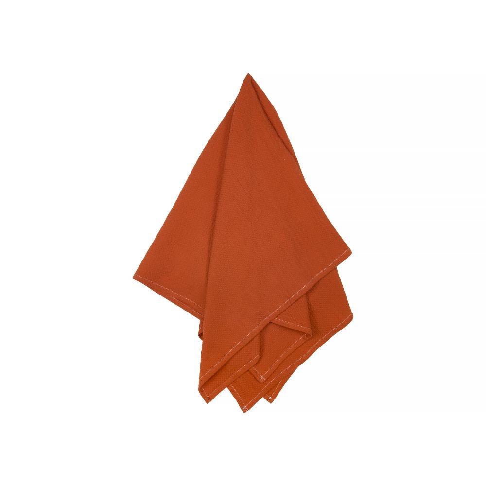 KraftKids Halstuch Doppelkrepp Rot Herbstrot