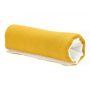 KraftKids Armschoner Babyschale Doppelkrepp Gelb Mustard Babyschale Armpolster