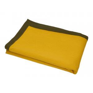 KraftKids Tagesdecke Doppelkrepp Gelb Mustard