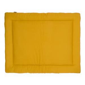 KraftKids Krabbeldecke Doppelkrepp Gelb Mustard