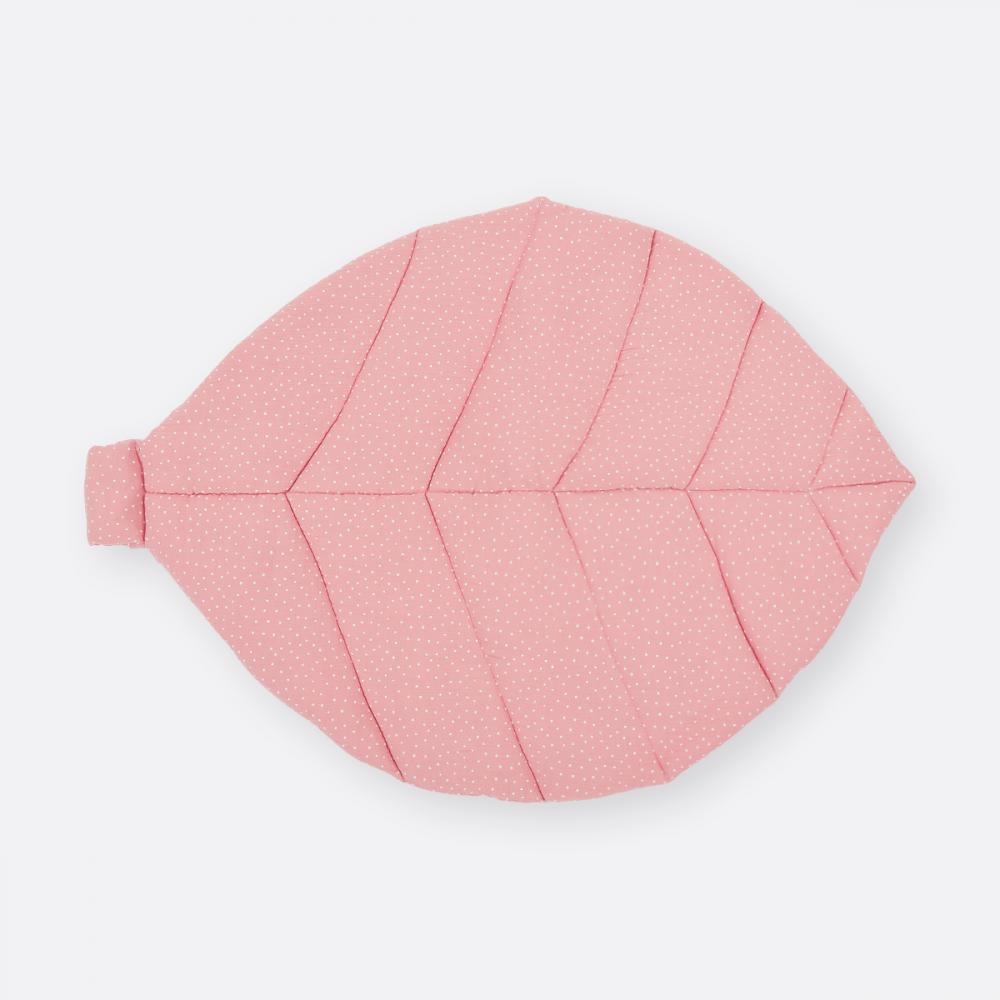 KraftKids Spielmatte Musselin rosa Punkte