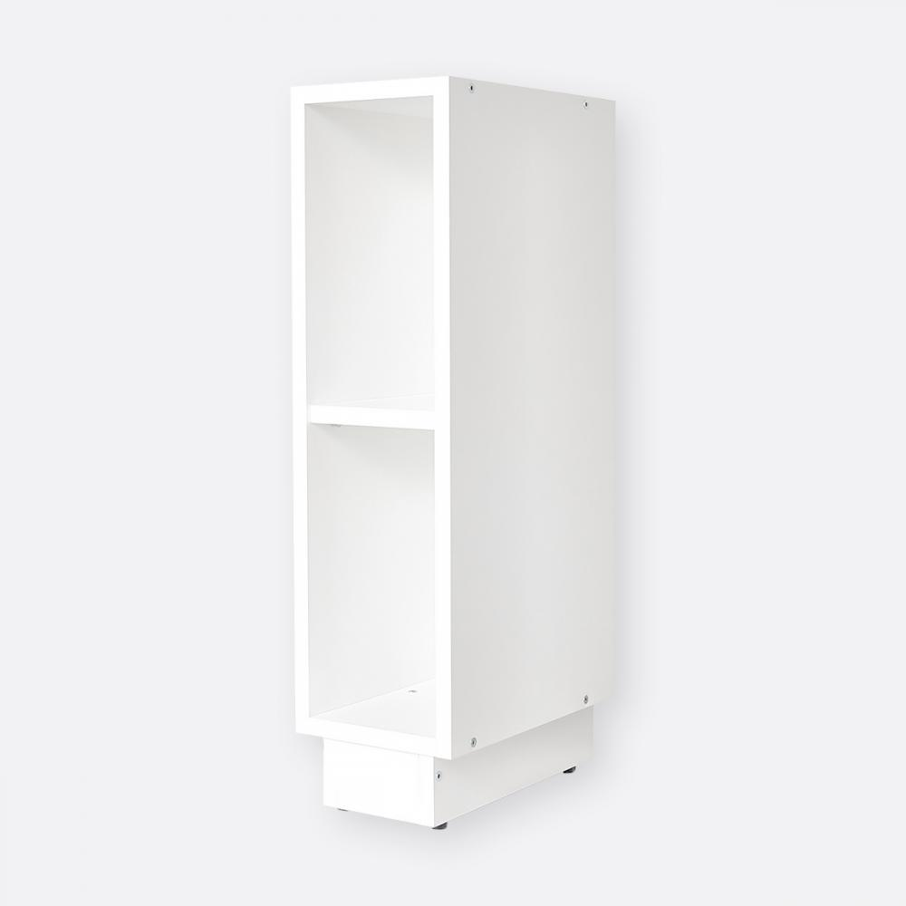 KraftKids Stauraumregal für Wickeltisch weiß passend für MALM Kommode