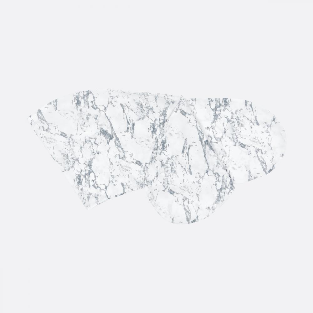 KraftKids Stillkissenbezug weißer Marmor