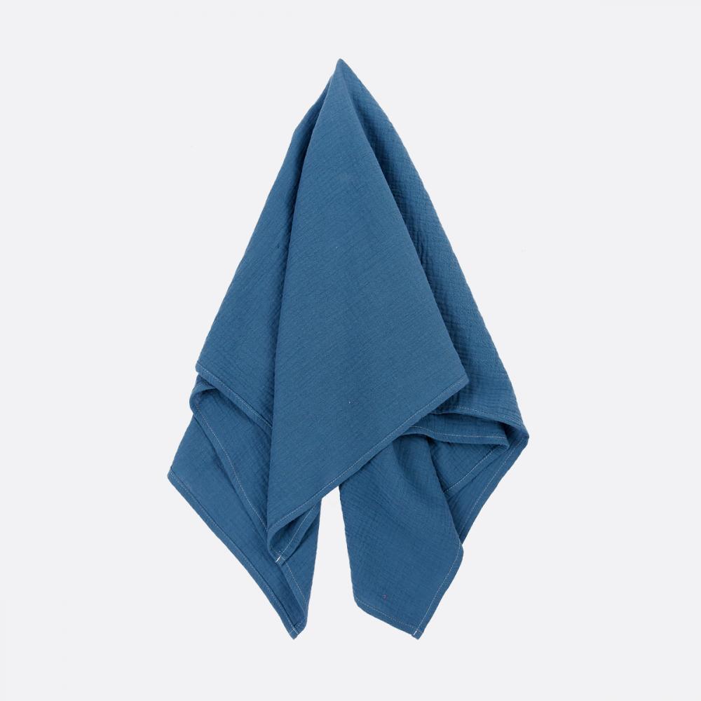 KraftKids Halstuch Musselin blau