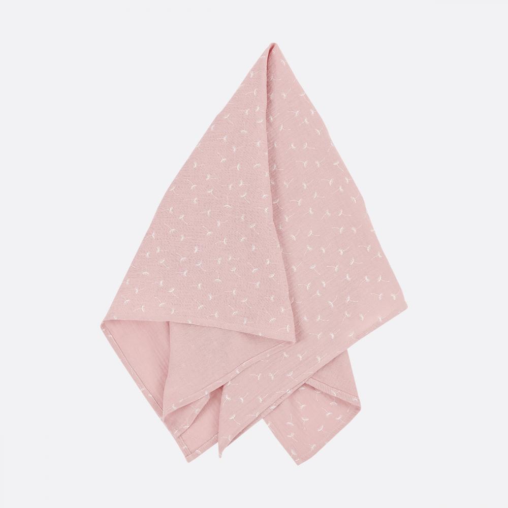 KraftKids Halstuch Musselin rosa Pusteblumen