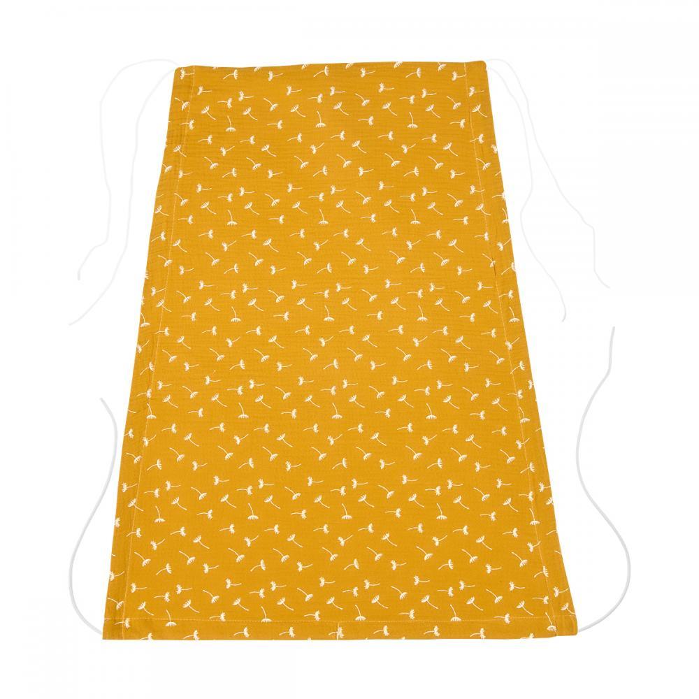 KraftKids Sonnensegel Musselin gelb Pusteblumen