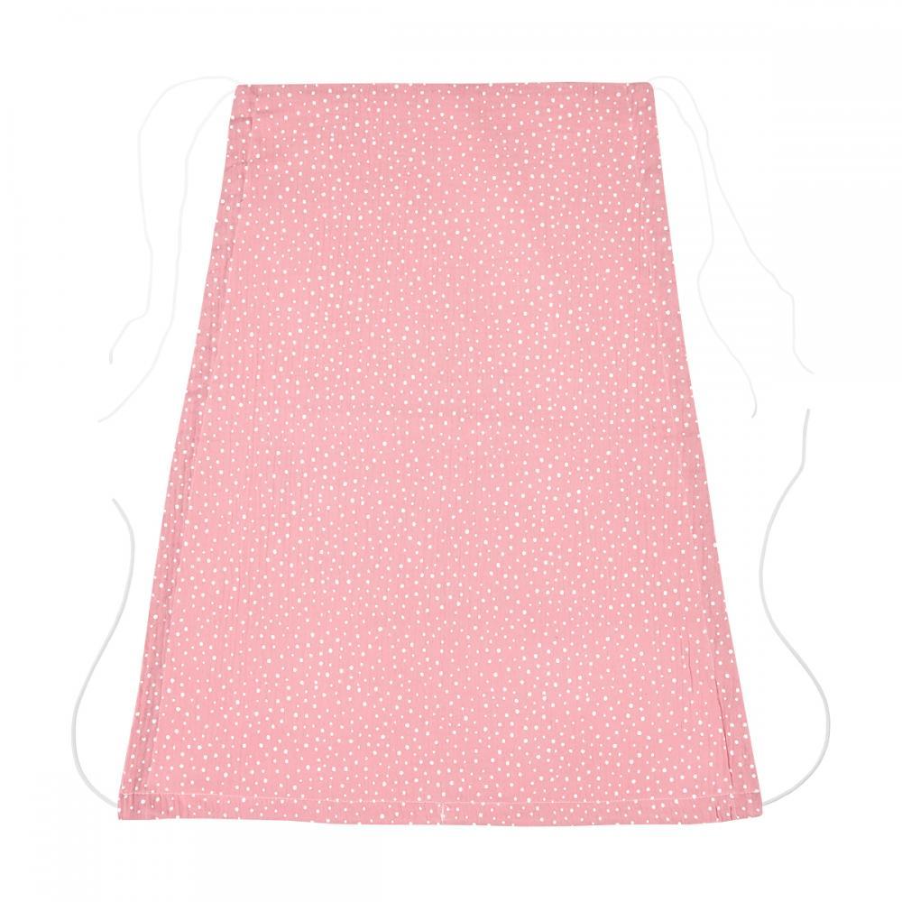 KraftKids Sonnensegel Musselin rosa Punkte