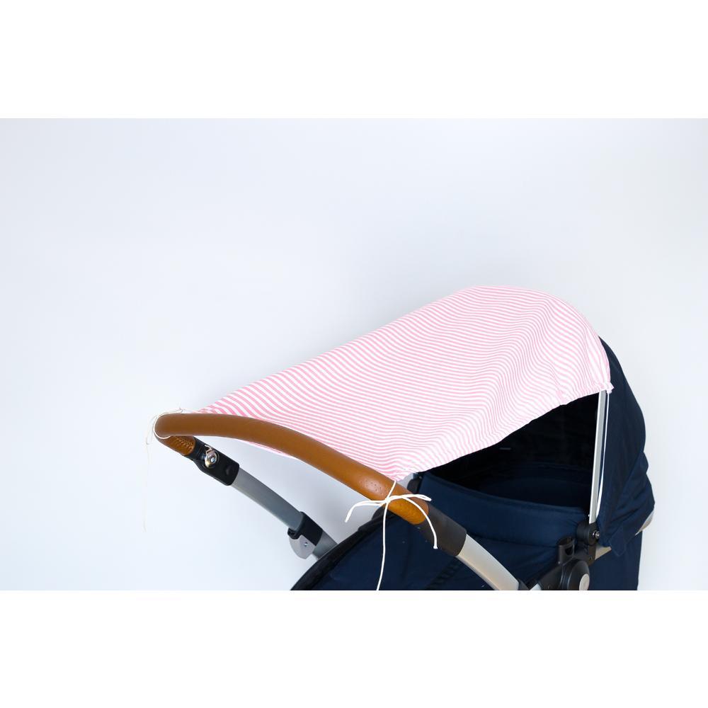 KraftKids Sonnensegel Streifen rosa