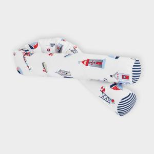 KraftKids Bettrolle Strandhäuschen Stärke: 10 cm, Rollenlänge 140 cm