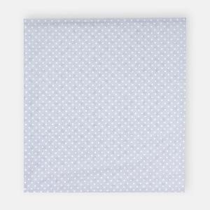 KraftKids Stilltuch weiße Punkte auf Grau