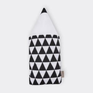 KraftKids Dekoration Stoffbleistift schwarze Dreiecke