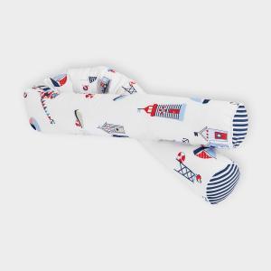 KraftKids Bettrolle Strandhäuschen Stärke: 10 cm, Rollenlänge 200 cm