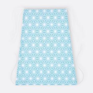 KraftKids Sonnensegel weiße Diamante auf Pastel Blau