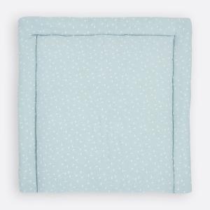 KraftKids Wickelauflage Musselin mint Pusteblumen breit 60 x tief 70 cm passend für Waschmaschinen-Aufsatz von KraftKids
