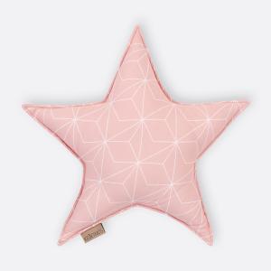 KraftKids Tipi Sets in Rosa weiße dünne Diamante auf Altrosa