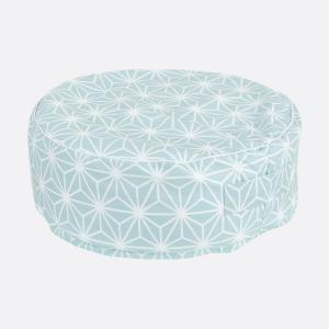 KraftKids Tipi Sets in Blau weiße Diamante auf Pastel Blau mit Micro-EPS-Perlen mit TOXPROOF-ZERTIFIKAT des TÜV-Rheinland