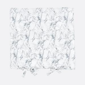 KraftKids Bezug für Wickeltischauflage weißer Marmor