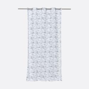KraftKids Gardinen weißer Marmor Länge: 230 cm