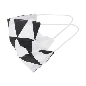 KraftKids Gesichtsmaske schwarze Dreiecke
