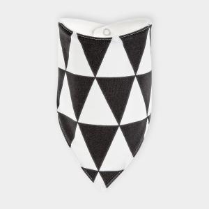 KraftKids Dreieckstuch schwarze Dreiecke