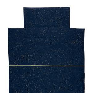 KraftKids Bettwäscheset Sternenhimmel 140 x 200 cm, Kissen 80 x 80 cm
