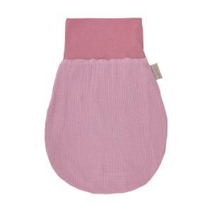 KraftKids Strampelsack Frühling Sommer Musselin rosa Größe 80 cm (12 bis 18 Monate)